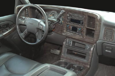 GMC Yukon Denali Interior Inyection Car