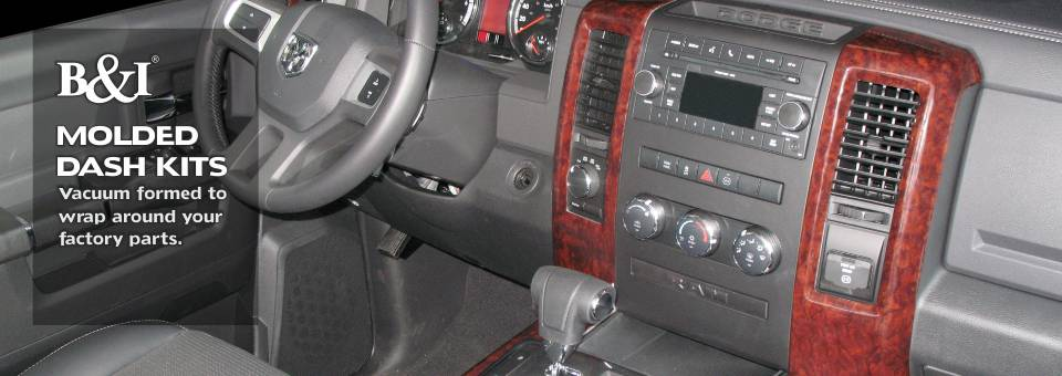 Molded Dash Kits